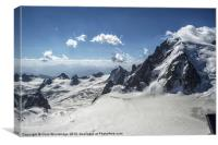 Beautiful Mountain Scape - Alps, Canvas Print