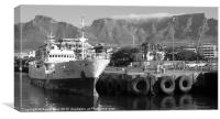 Table Mountain, Canvas Print