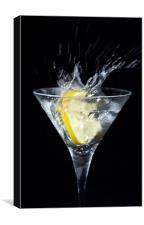Martini drink, Canvas Print