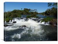 Iguassa Falls, Canvas Print