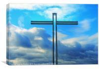 Aberdeen Cross, Canvas Print