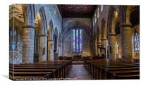 St. Machars Cathedral, Canvas Print