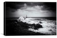 Crashing Wave, Canvas Print