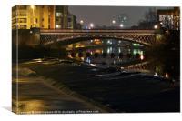 Crown Point Bridge, Canvas Print