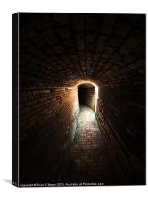 The Great war Bunker, Canvas Print