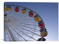 Ferris Wheel Santa Monica Pier, Canvas Print