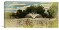 Pond Life 2, Canvas Print
