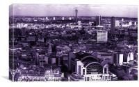 view of london 3, Canvas Print