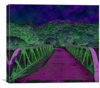 bridge of dreams, Canvas Print
