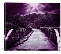 bridge of dreams 3, Canvas Print