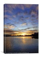 Vivid Morning Sunrise, Canvas Print