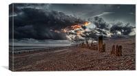 Armageddon on Sea, Canvas Print