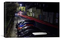 A Vrooom With A View In Malmesbury, Canvas Print