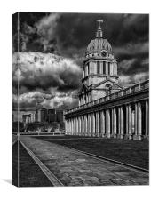 Greenwich Old and New, Canvas Print