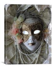 Masquerade 1, Canvas Print