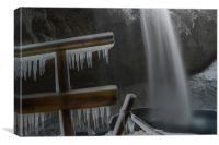 Seljalandsfoss Waterfall, Canvas Print