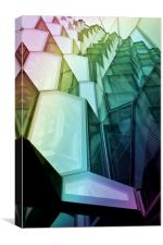 Harpa Building, Canvas Print