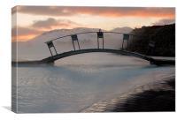 Bridge over the Blue Lagoon