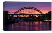 Tyne Bridge Sunset