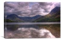 Buttermere looking towards Fleetwith Pike, Canvas Print