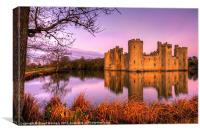 Dawn at Bodiam