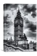 The Tower, Canvas Print