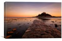 St.Michaels Mount, Canvas Print