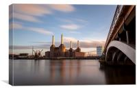 Power Station at Battersea, Canvas Print