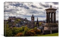 Edinburgh View, Canvas Print
