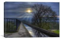 Pontcysyllte Aqueduct, Canvas Print
