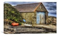 Olde Boat House, Canvas Print