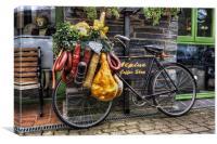 Olde Bike, Canvas Print