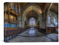 Welsh Cathedral, Canvas Print