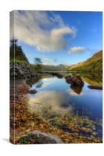 Llyn Crafnant, Canvas Print