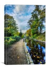Canal Walk, Canvas Print