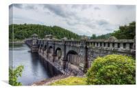 Lake Vyrnwy Dam , Canvas Print