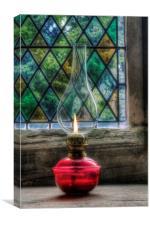 Eternal Flame, Canvas Print