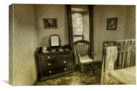 Elegant Bedroom , Canvas Print