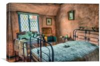Victorian Bedroom , Canvas Print