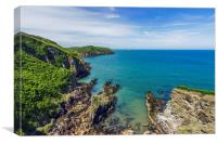 Anglesey Coast , Canvas Print