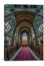 Marble Church, Canvas Print