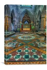 Chester Cathedral , Canvas Print