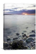 Sunset Beach, Canvas Print
