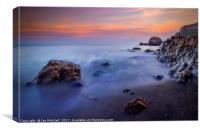 Llandudno Sunset, Canvas Print