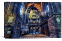Chester Cathedral Organ, Canvas Print