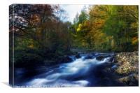 River Llugwy, Canvas Print