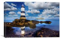 Penmon Lighthouse, Canvas Print