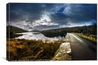 Road To Llyn Padarn, Canvas Print