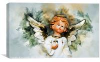 Christmas Angel, Canvas Print