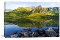 Llyn Idwal, Canvas Print